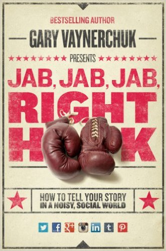 cover på boken Jab, Jab, Jab Right Hook